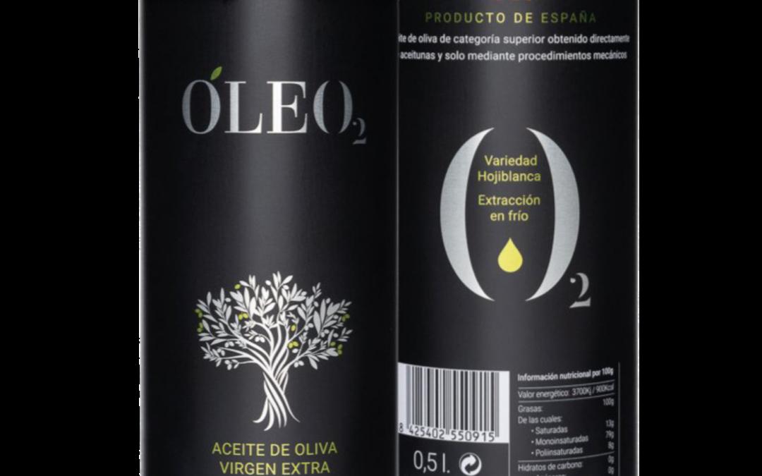Premio internacional al diseño y packaging del aceite Óleo2